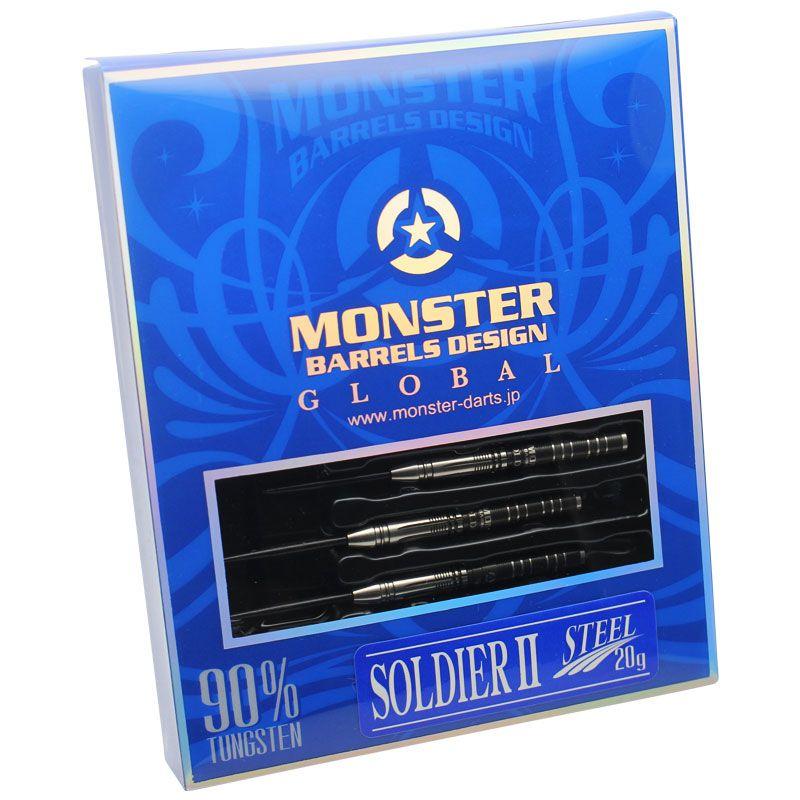 【Monster】SOLDIER2 STEEL モンスター ダーツ ハードダーツ