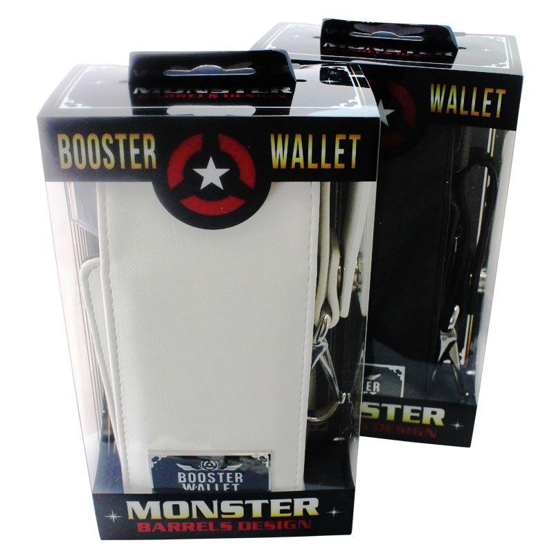 【Monster】BOOSTER WALLET2 ホワイト モンスター ダーツケース ドロップイン ブースターウォレット2