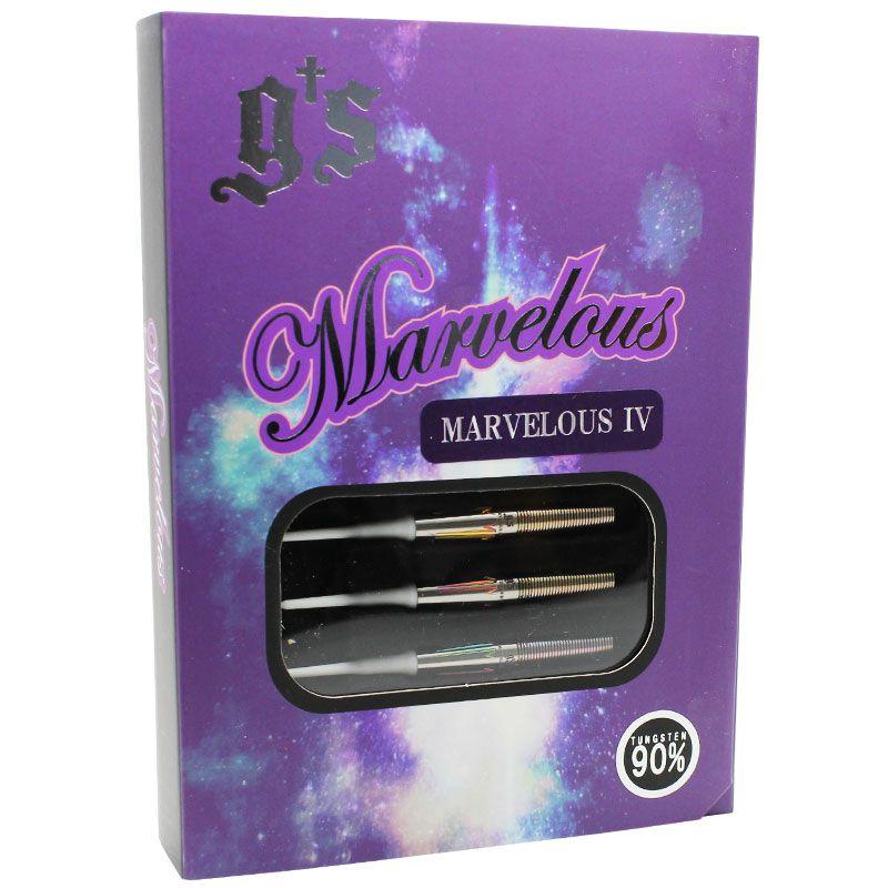 【G's】 MARVELOUS4 ジーズ ソフトダーツ タングステンバレル マーベラス4 江口裕司選手モデル えぐちょ