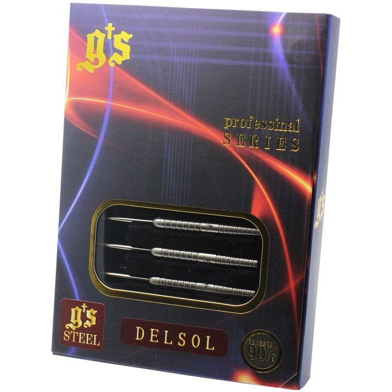 【G's】 DELSOL STEEL ジーズダーツ スティール ハードダーツ タングステン バレル デルソル 津村友弥選手モデル