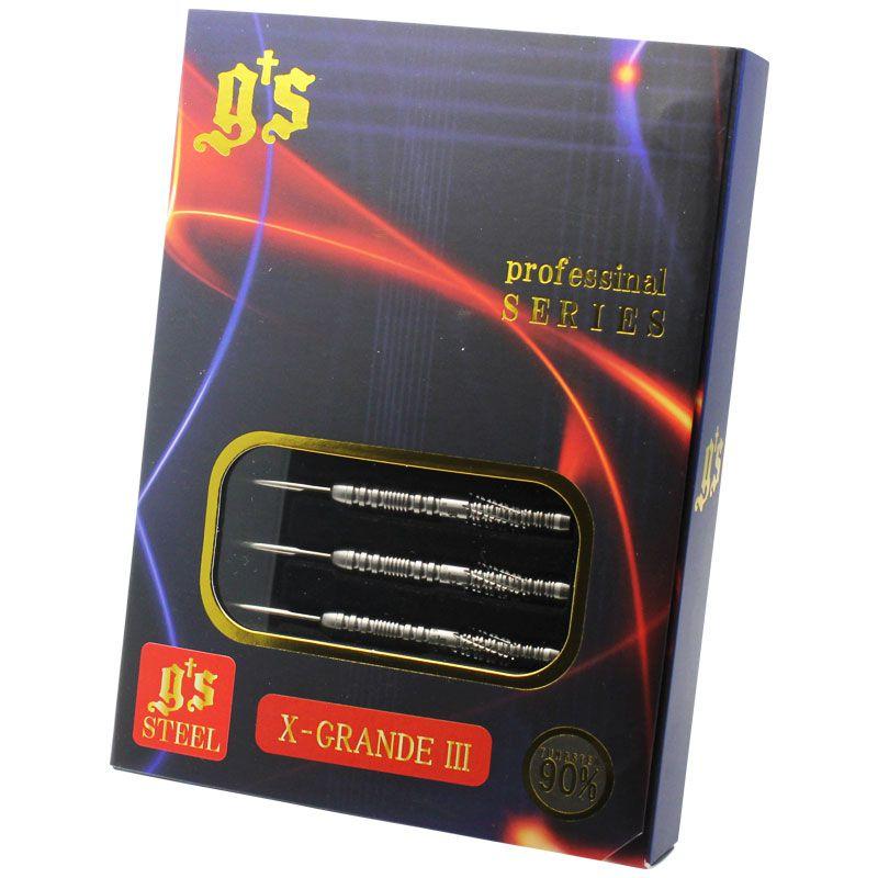 【G's】X-GRANDE3 STEEL ジーズダーツ スティール ハードダーツ タングステン バレル トラディエンス3 治徳大伸選手モデル