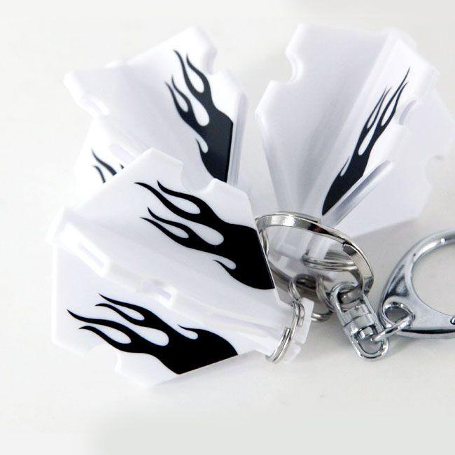 【EDGE】 フライトスロットケース ブラックファイヤー ホワイトベース