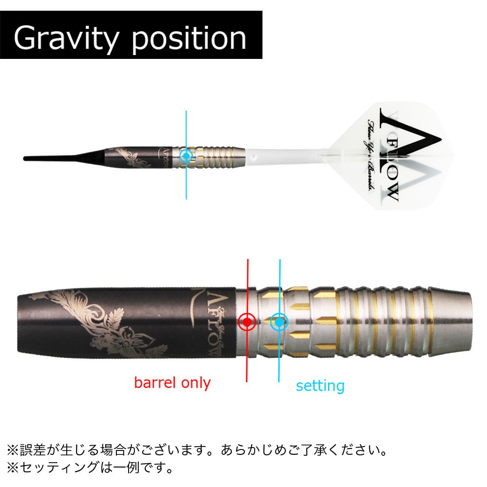【Dynasty】 A-FLOW BLACK LINE WAVE RIDER maneuver ダイナスティ エーフローブラックライン ウェーブライダー マニューバー 大内麻由美 ダーツ