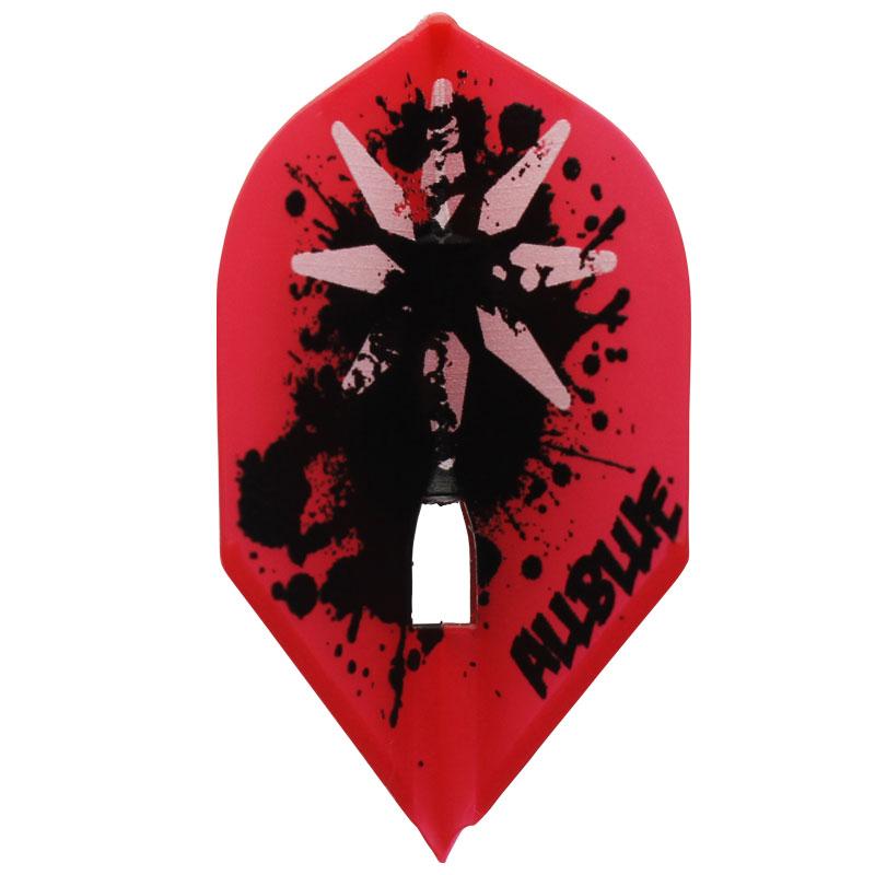 【Dynasty】FlightL ALLBLUE ロケット レッド ダイナスティ オールブルー フライトエル シャンパンリング対応 ダーツ