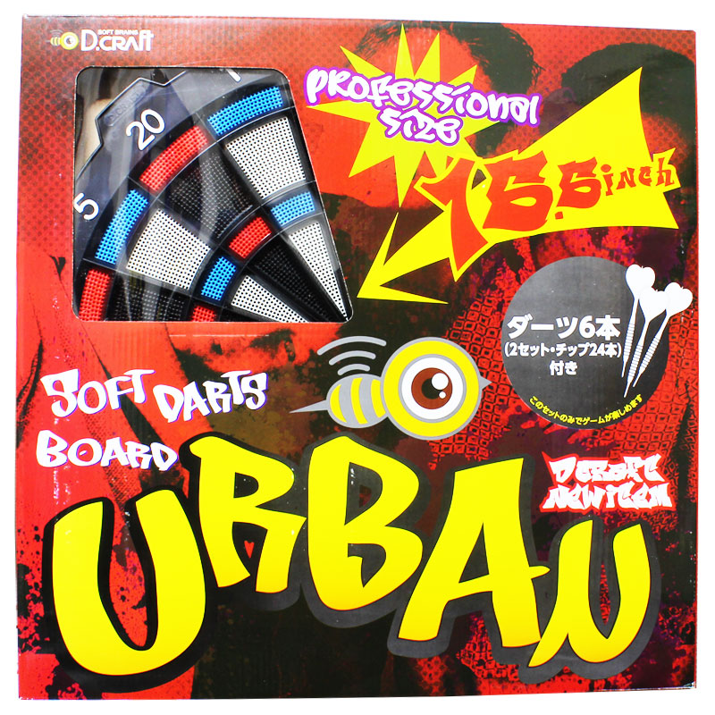 【D-craft】SOFT DARTBOARD URBAN