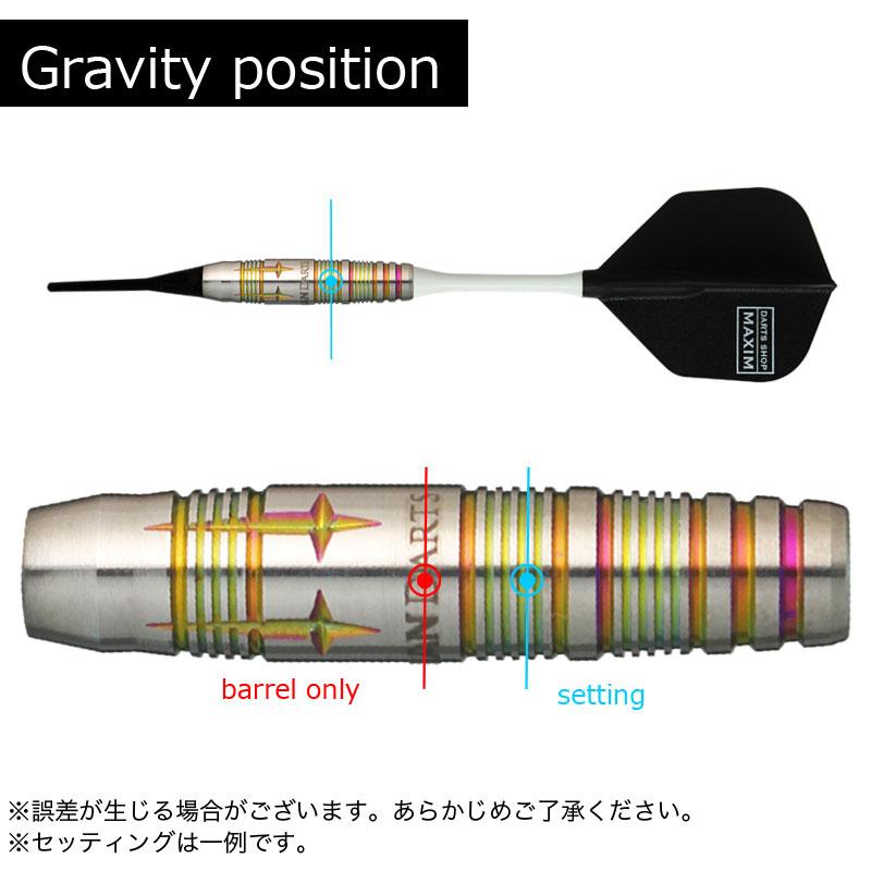 【GRAN】 BARREL NEOSeries A-08 グランダーツ ソフトダーツ バレル ネオシリーズ