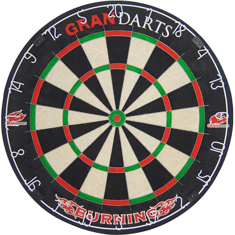 【Gran】グランダーツ ハードダーツボード BURNING 13.2インチ バーニング