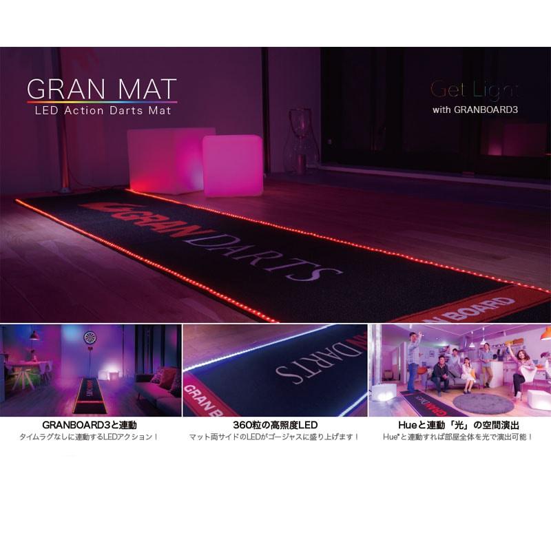 【Gran】 GRAN DARTS LED Action グラン グランダーツ レッドアクション ダーツマット