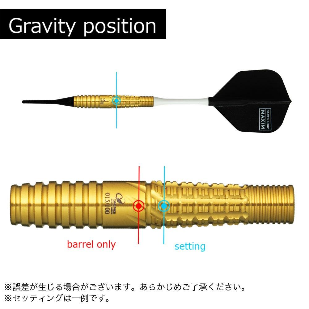【Cosmodarts】 GoldFinger 2 Auric Edition コスモダーツ ゴールドフィンガー2 ハリスリム 限定モデル