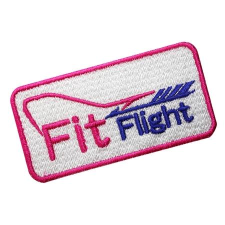 【COSMODARTS】ロゴワッペン Fit Flightロゴ