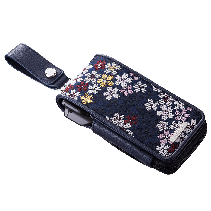 【CAMEO】GARMENTJAPANESQUE2 紺桜 カメオ ドロップインダーツケース ガーメントジャパネスク2