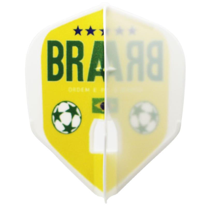 【CAMEO】 フライトエル FTB ブラジル  サッカーフライト ダーツ シャンパンリング対応