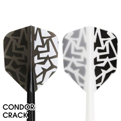 【CONDOR】コンドル クラック シェイプ ホワイトベース ダーツ