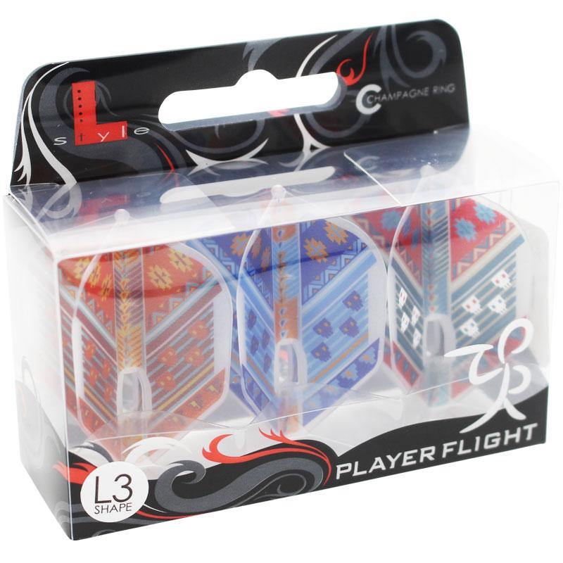 【FlightL】Hatake フライトエルプレイヤーモデル 畠中宏バージョン1 スモール L3