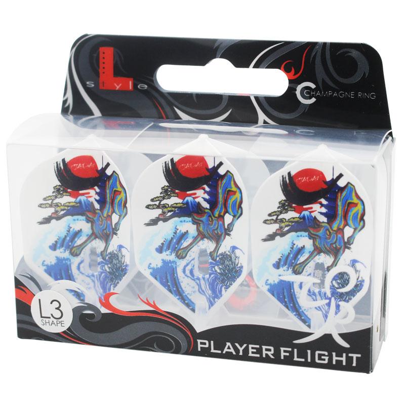 【FlightL】村松 治樹ver4 L3 スモール シャンパンリング対応 ホワイトベース HAL ハル フライトエル×プロプレイヤー