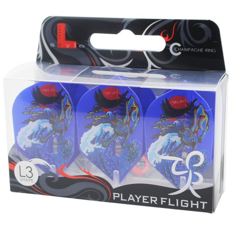 【FlightL】村松 治樹ver4 L3 スモール シャンパンリング対応 ネイビーブルーベース HAL ハル フライトエル×プロプレイヤー