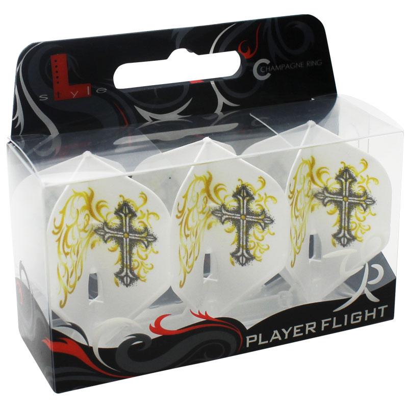 【FlightL】星野光正 ver5 L1 フライトエル×プロプレイヤー HOSHINO シャンパンリング対応 スタンダード形状 ホワイトベース