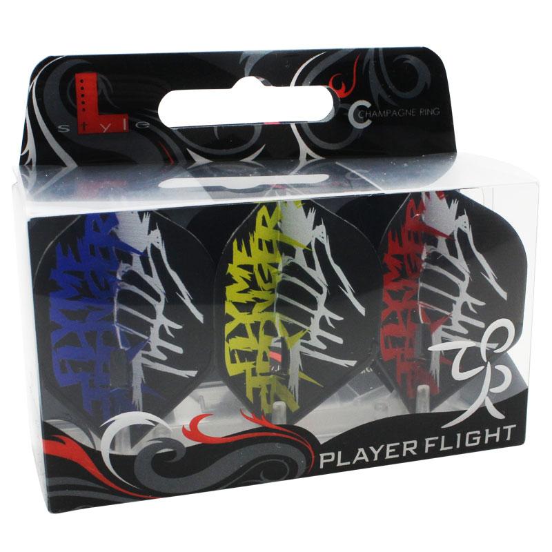 【FlightL】L-Flight PRO フライトエル×榎股 慎吾 ver2 スタンダード L1 シャンパンリング対応 ブラック