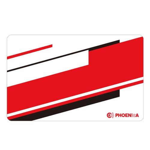 【Phoenix】 フェニックス ゲームカード ダーツ用 斜め黒赤白