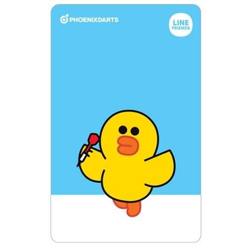 【Phoenix】 フェニックス ゲームカード ダーツ用 フェニカ ラインフレンズ2 サリー