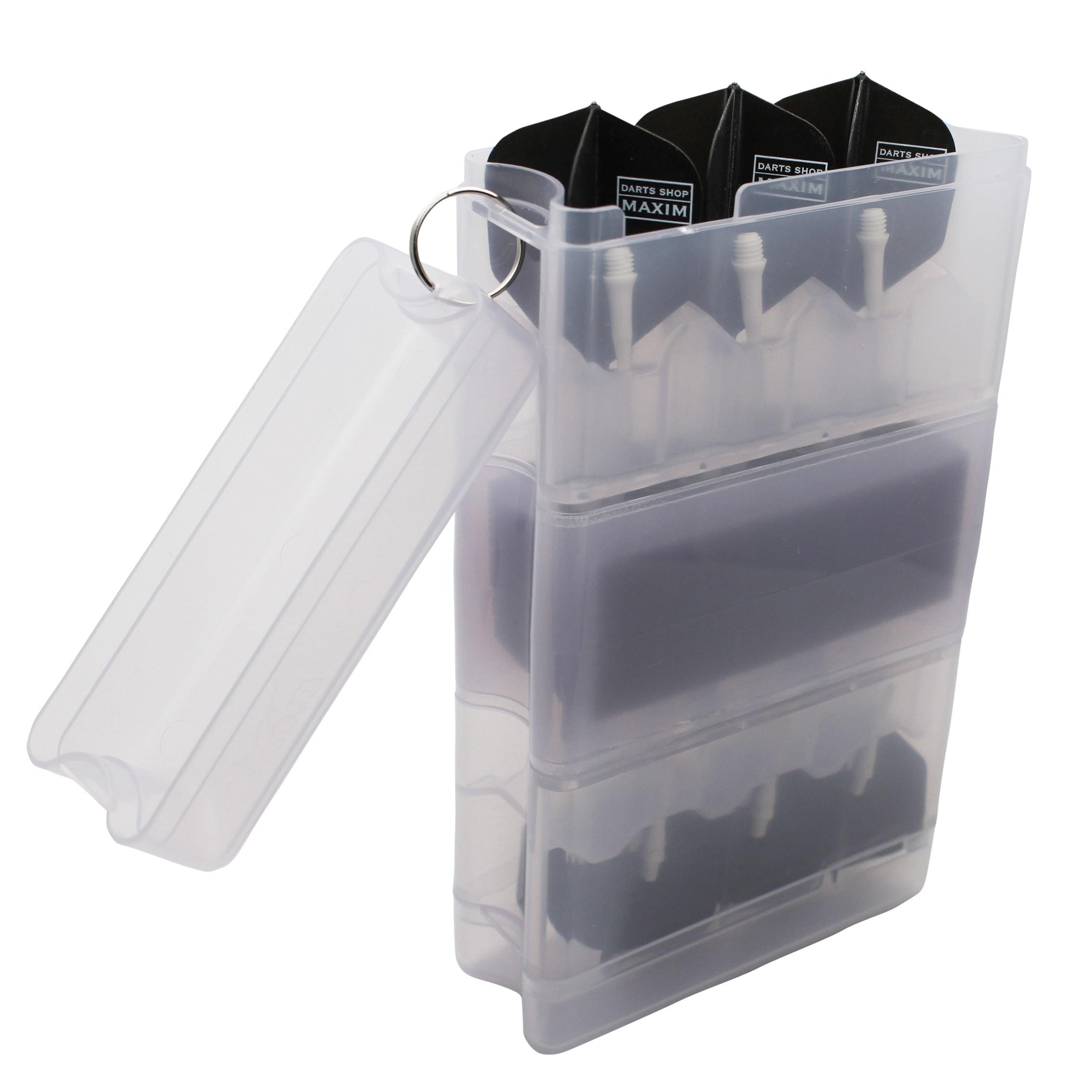 ダーツケース 全知全能 セッティングダーツ2セット収納プラスチックボックスケース