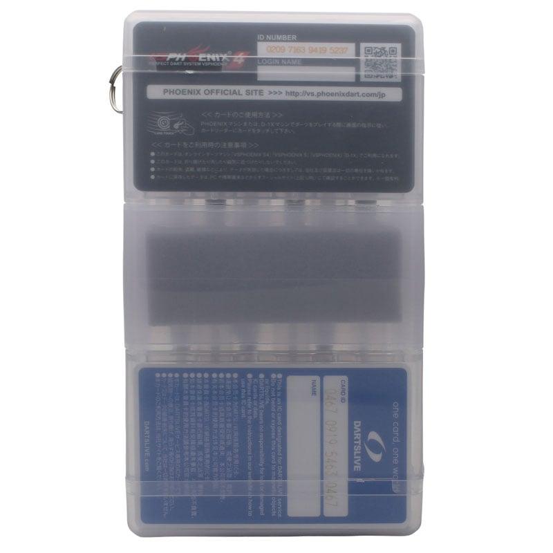 ダーツケース 全知全能 セッティングダーツ2セット収納プラスチックボックスケース ニューカラー
