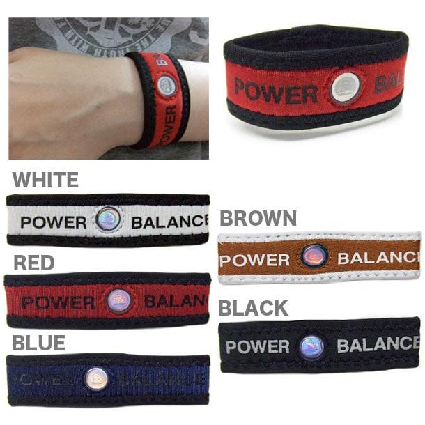 【POWER BALANCE】パワーバランス リストバンド 限定ネオプレーン -ダーツサポーター-