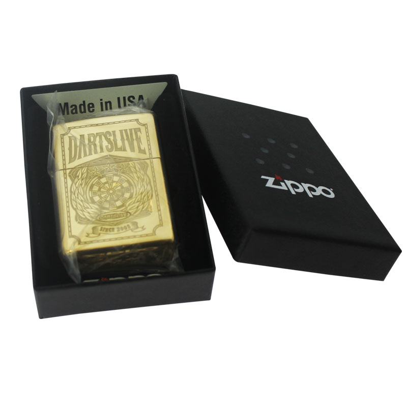 【dartslive】 限定デザイン ダーツライブジッポー Zippo