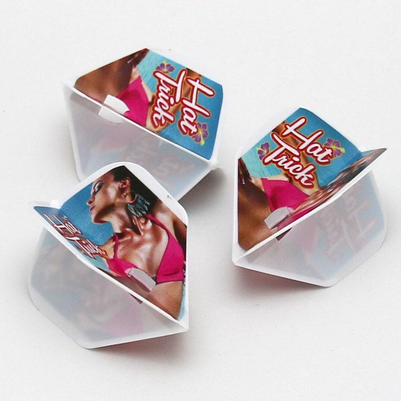 【限定品】DARTSLIVE CARD Special Pack Flight-L HAT TRICK ダーツライブ ゲームカードスペシャルパック フライトエル ハットトリック テーマ付き