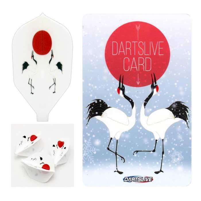 【dartslive】DARTSLIVE CARD Special Pack Fit Flight フィットフライト ダーツライブカード 雪鶴