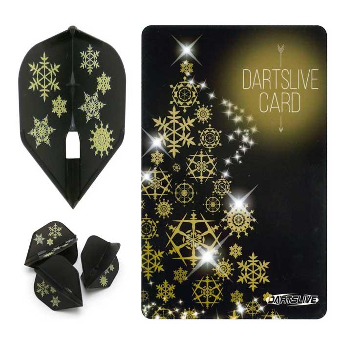 【dartslive】DARTSLIVE CARD Special Pack FlightL フライトエル ダーツライブカード SnowCrystalブラック