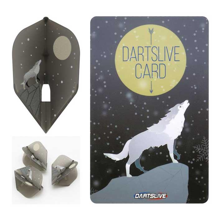 【dartslive】DARTSLIVE CARD Special Pack FlightL フライトエル ダーツライブカード 白狼