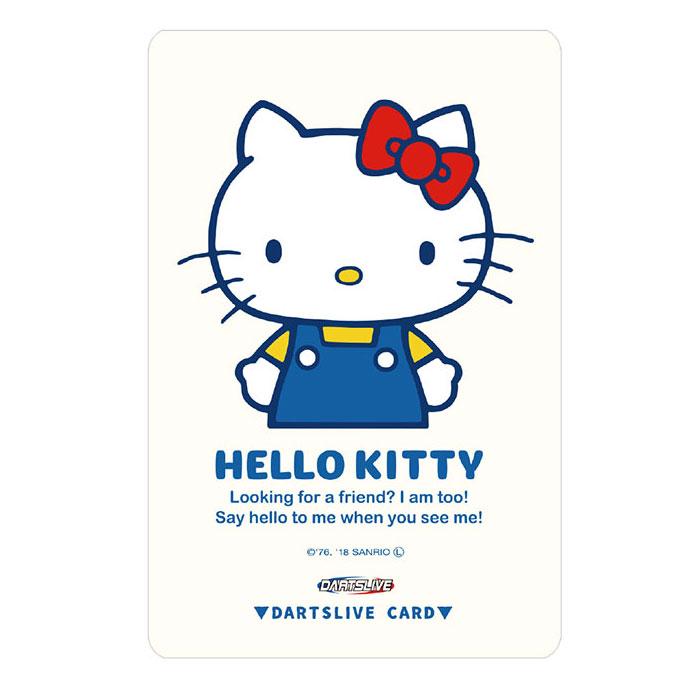 【dartslive】ダーツライブカード Hello Kitty ホワイト ハローキティコラボ