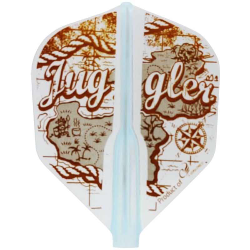 【Juggler】FitFlightAIR フィットフライトエアー×ジャグラー オールドマップ Old Map シェイプ形状 ダーツ用 フライト