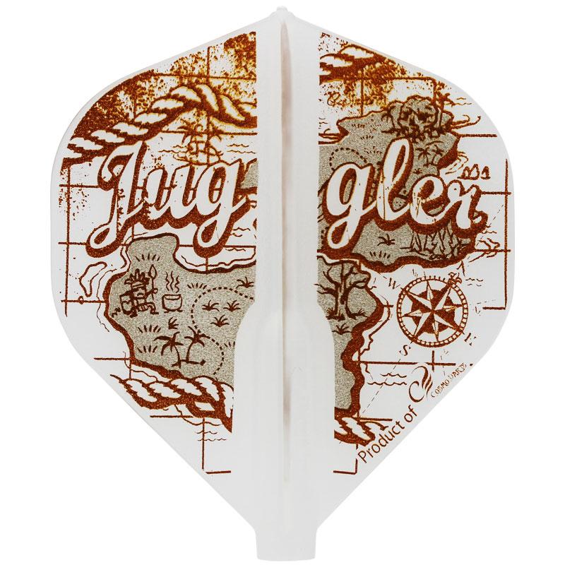 【Juggler】 Fit Flight × Juggler フィットフライト×ジャグラー オールドマップ Old Map スタンダード形状 ダーツ用 フライト