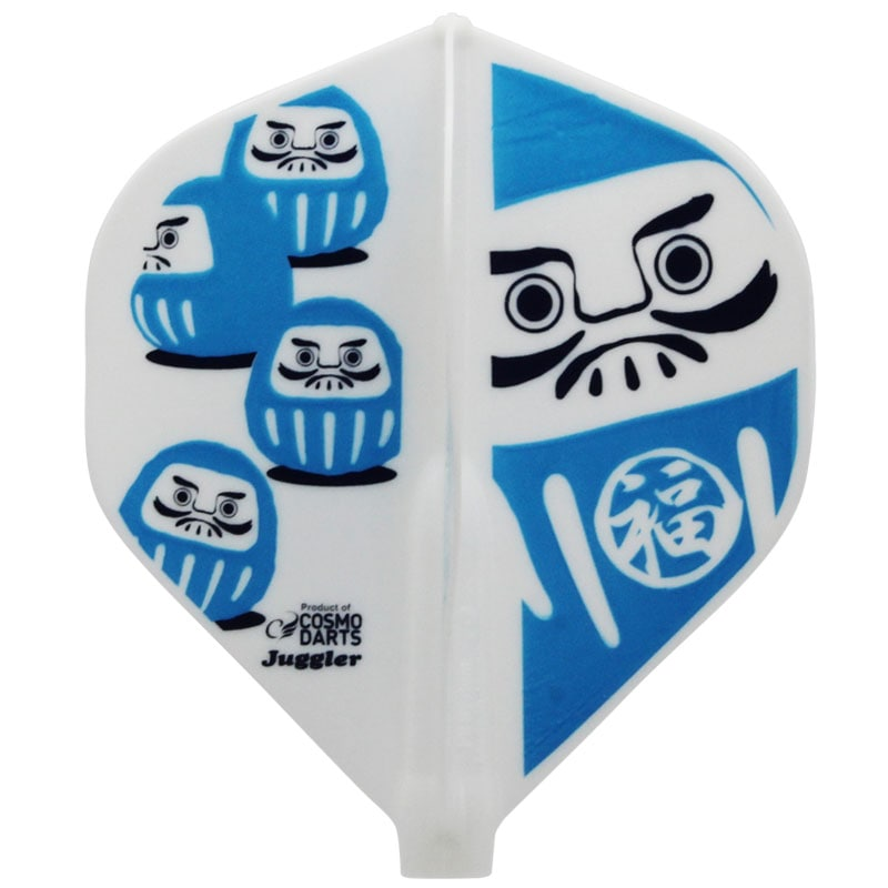 【Juggler】 Fit Flight × Juggler だるま スタンダード フィットフライト×ジャグラー ダーツフライト Dharma