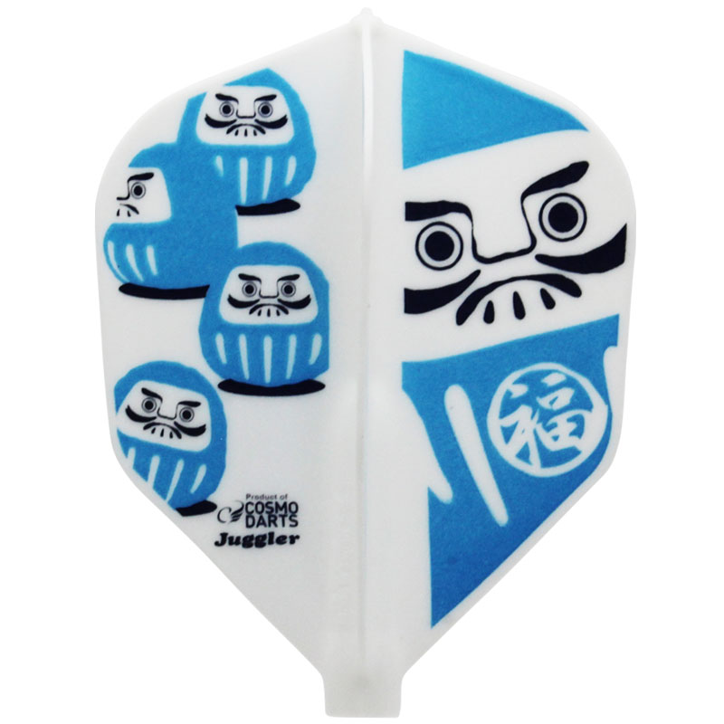 【Juggler】 Fit Flight × Juggler だるま シェイプ フィットフライト×ジャグラー ダーツフライト Dharma