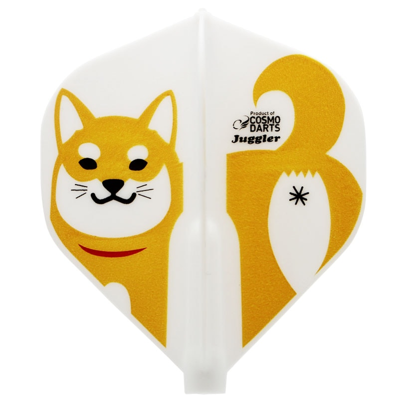 【Juggler】Fit Flight × Juggler SHIBA INU 柴犬 スタンダード フィットフライト×ジャグラー しばいぬデザイン ダーツ用