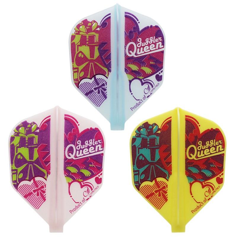 【JugglerQUEEN】FIT Valentine シェイプ フィットフライト ダーツ用 バレンタイン