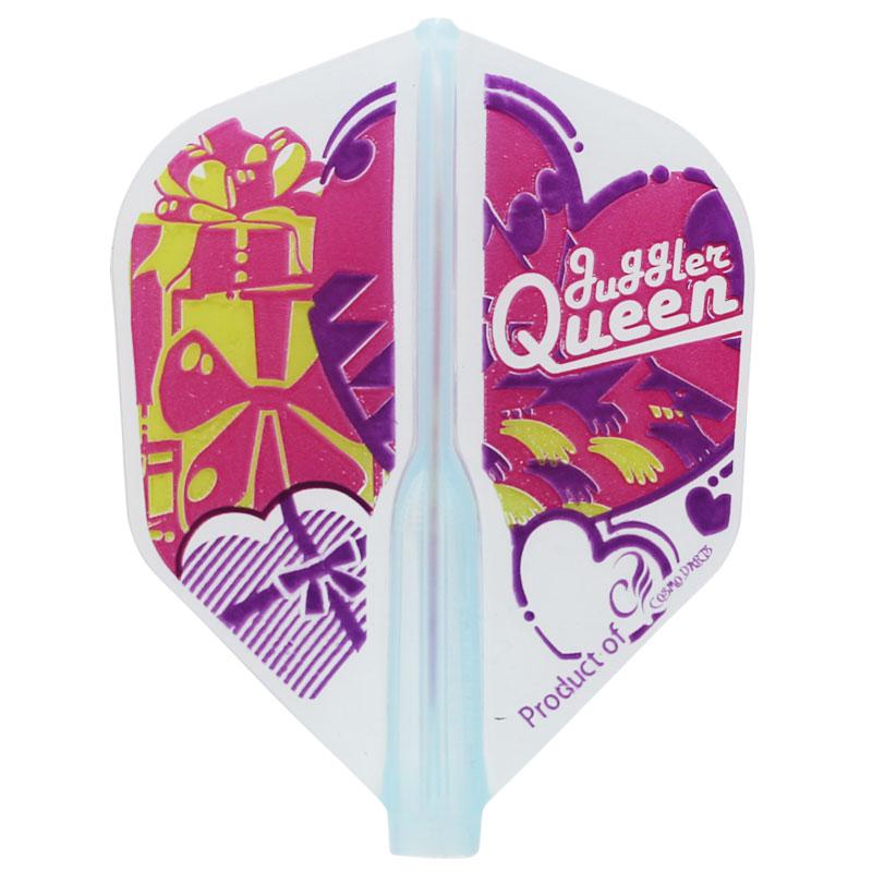 【JugglerQUEEN】FITAIRValentine シェイプ フィットフライトエアー ダーツ用 バレンタイン