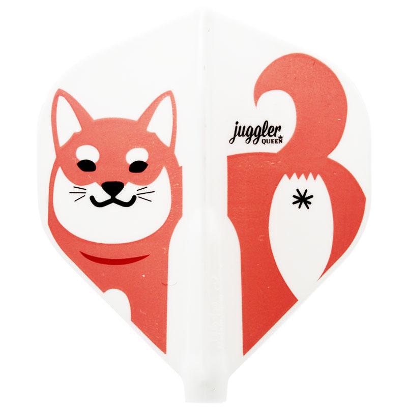 【JugglerQUEEN×FitFlightAIR】 Colorful Shiba Inu スタンダード ジャグラークイーン×フィットフライトエアー カラフル柴犬 ダーツ用