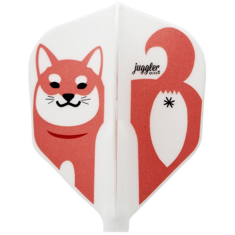 【予約商品】【2018/2/21発売】【JugglerQUEEN×FitFlight】Colorful Shiba Inu シェイプ ジャグラークイーン×フィットフライト カラフル柴犬 ダーツ用