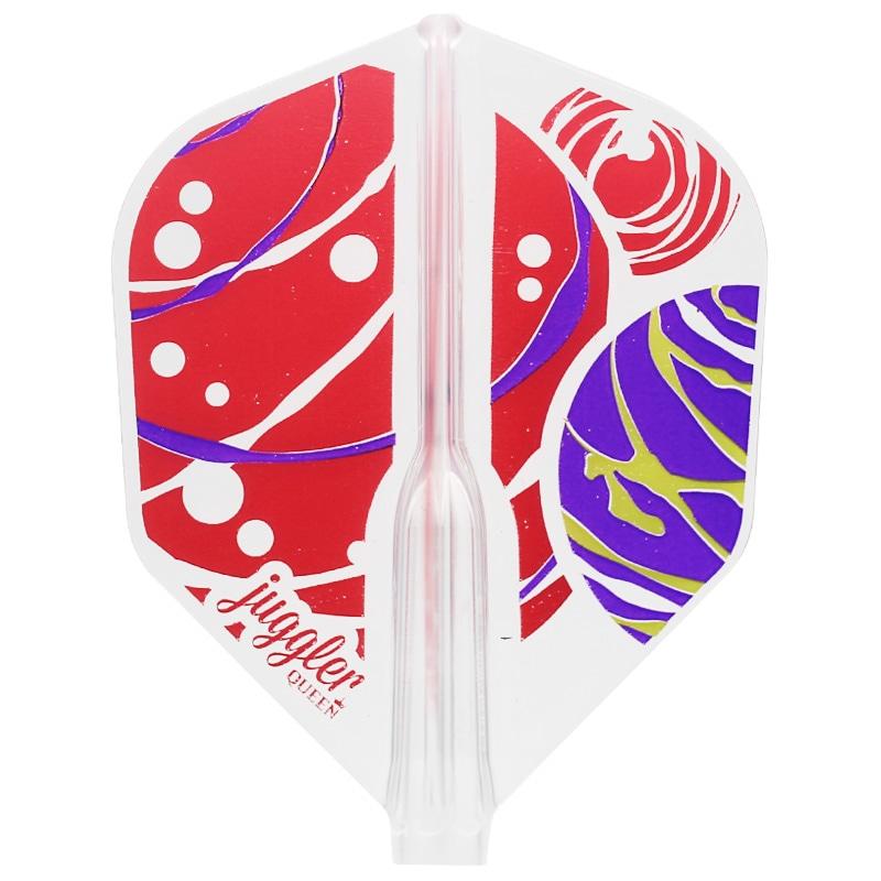 【JugglerQUEEN】FITAIR  Colorful Marble シェイプ ジャグラークイーン フィットフライトエアー カラフルマーブル ダーツ