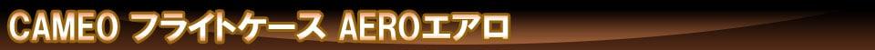 【CAMEO】 フライトケース AERO カメオ小物ケース エアロ