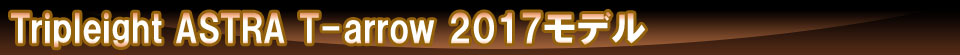 【Tripleight】 ASTRA T-arrow 2017モデル トリプレイト ソフトダーツ アストラ ティーアロー 谷内太郎モデル