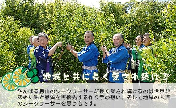勝山シークヮーサー 地域と共に長く愛され続ける