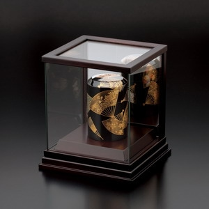 ミニ骨壷専用ガラスケース(背面鏡面仕様)