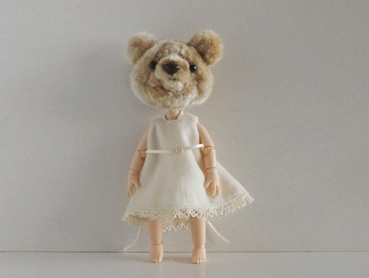 モールヘッドドール クマ