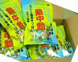 熱中飴(塩飴) (小袋タイプ10袋入り)井関食品