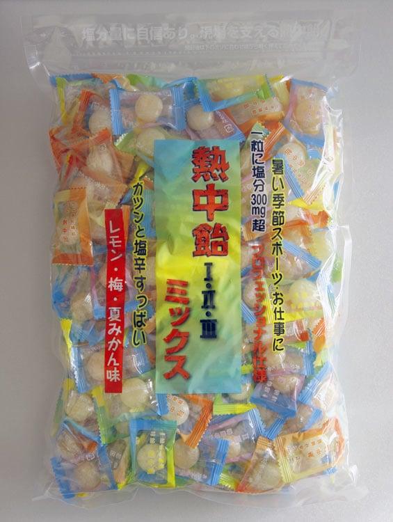 手造りの飴 『地釜本造り』熱中飴今度はタブレット(塩飴)(業務用・大袋)井関食品